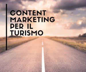 Content marketing per il settore del turismo