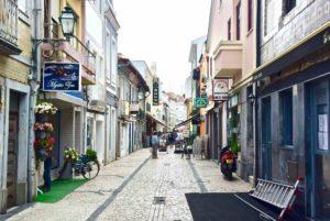 centro storico di Aveiro nel nord del portogallo
