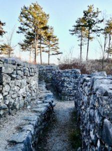 Cosa vedere a gorizia le trincee del Brestovec