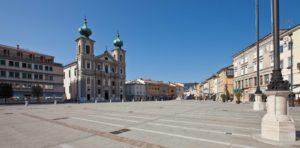 Cosa vedere a Gorizia in Piazza della vittoria