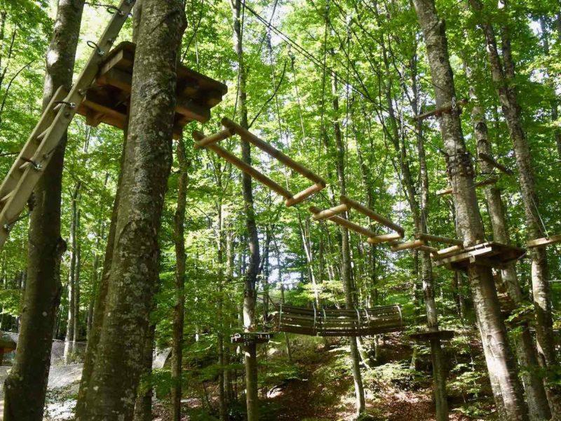 Parco avventura Cerwood in Emilia-romagna