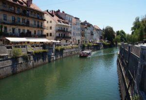 Lubiana, cosa vederE: il lungofiume della Ljubljanica