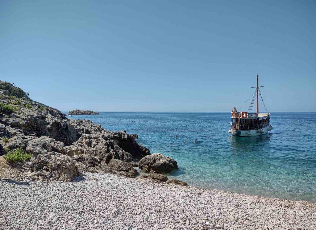 viaggio in croazia, baia di lubenice