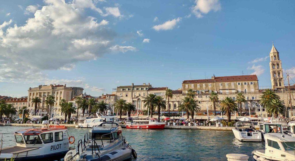 viaggio in croazia, visitare spalato