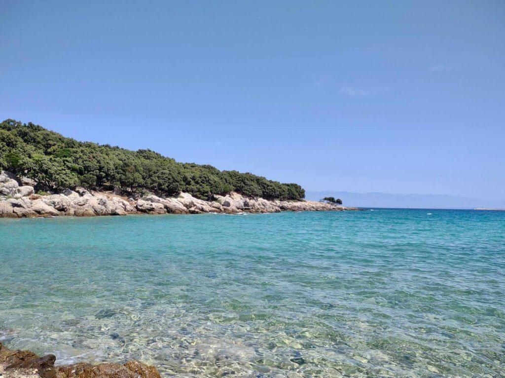 viaggio in croazia, spiaggia di Verin