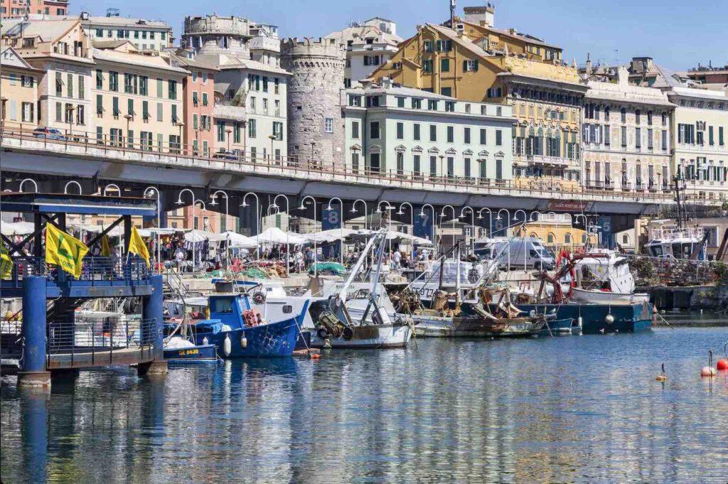 Genova tra le città di mare da visitare