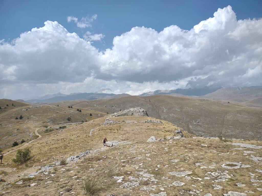 escursionismo abruzzo a rocca calascio