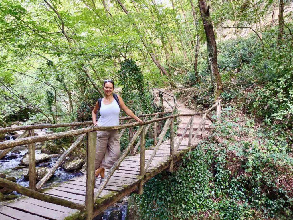 escursionismo abruzzo nella valle dell'Orfento